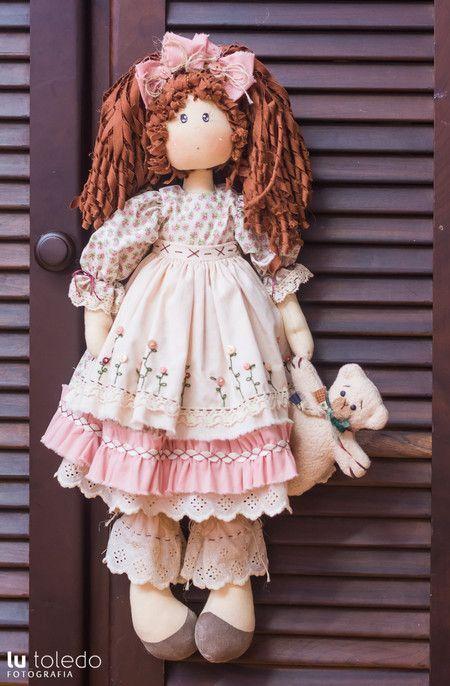 Boneca Helena - Kit completo - Casinha de Bonecas: