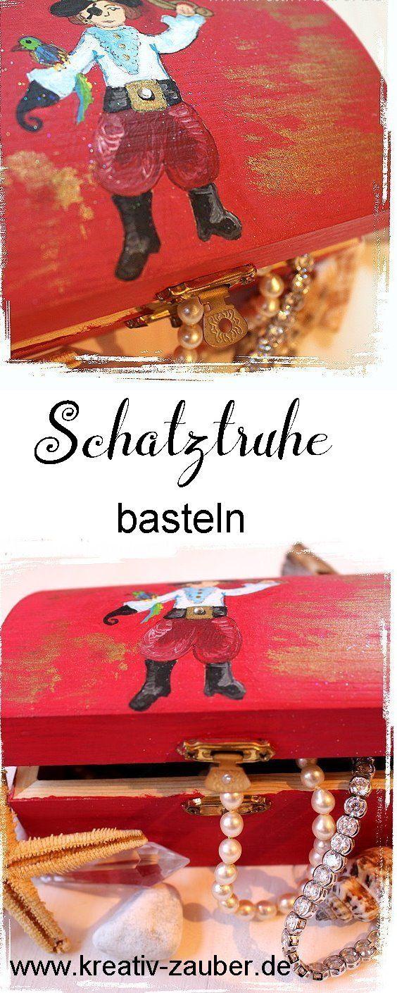75 best gratis bastel vorlagen images on pinterest - Schatzkiste basteln vorlage ...