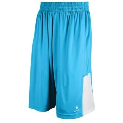 $9, Aquamarine Shorts: Southpole Active Polyjersey Shorts Ocean Blue. Sold by Eastbay. Click for more info: https://lookastic.com/men/shop_items/270863/redirect