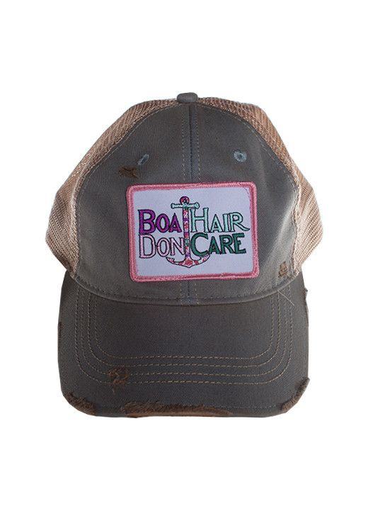 Judith March Boat Hair Don't Care Hat (Light Blue)