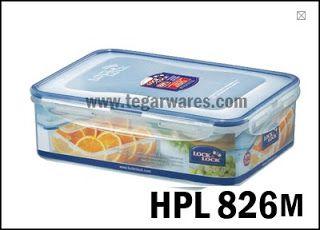 HPL 826M: Size 248 x 180 x 76mm 2.1L