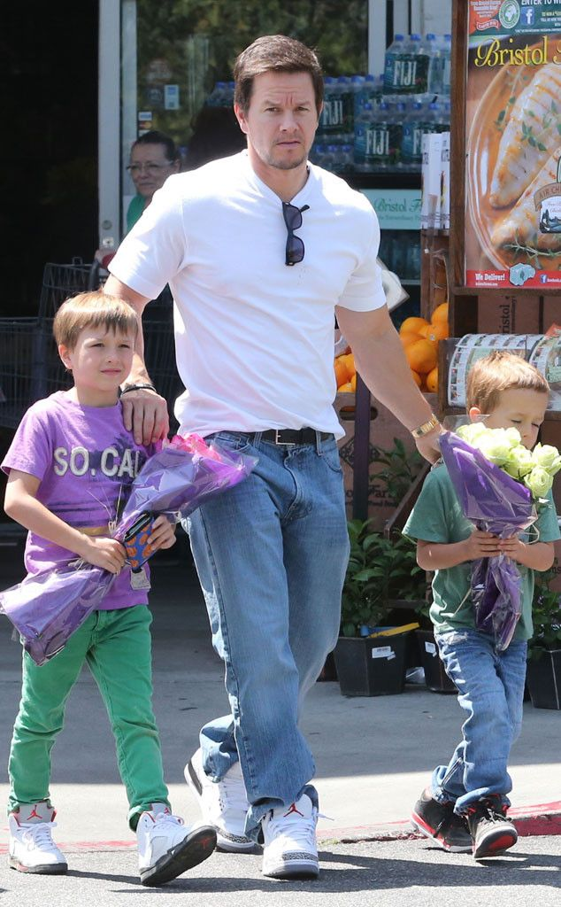 Mark Wahlberg from Hollywood's Hottest Dads