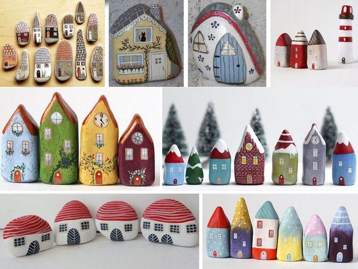 manualidades con piedras pintadas para niños