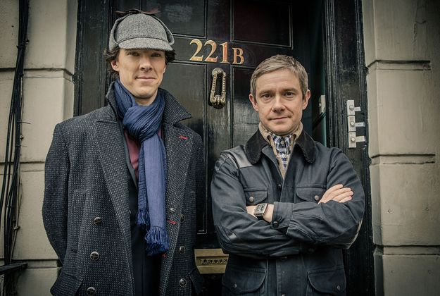 "You may have heard that Sherlock series three is now definitely a thing that will be happening. | The 30 Pictures From ""Sherlock"" You've Waited Nearly Two Years To See"