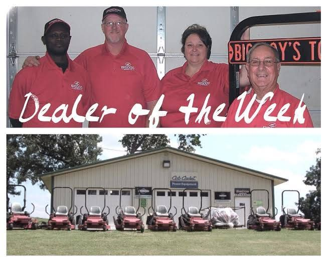 """C&W Lawn Equipment is our Dealer of the Week!   Located in Hugo, Oklahoma, C&W has been in business for 23 years.They picked up BigDog in March 2013 and have been proudly selling our mowers ever since.  """"We were so impressed with the mowers that our owner sold his beloved John Deere Zero Turn and purchased a BigDog."""" - C&W Lawn Equipment"""