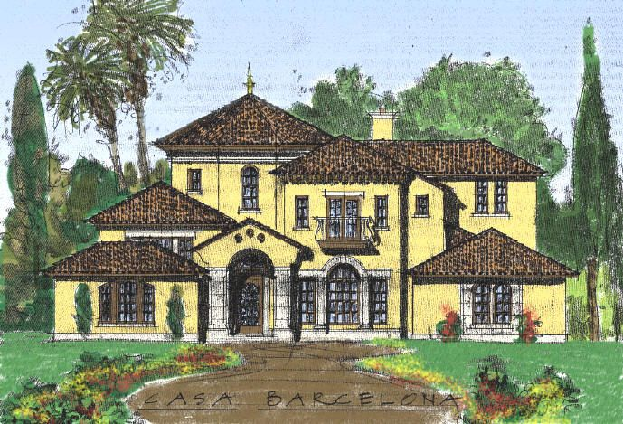 17 best images about mediterranean italian spanish florida for Dream home designs usa