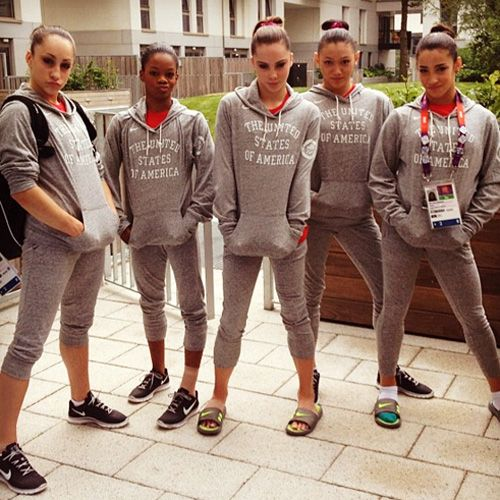 Fab Five, USA Women's Gymnastics team. Simply the best!!!