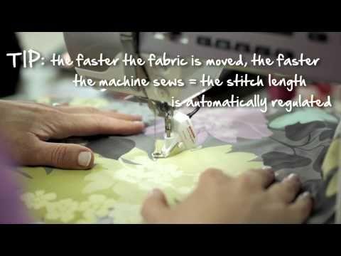 7/10 BERNINA 530 and 550 QE: free motion quilting with the BERNINA Stitch Regulator