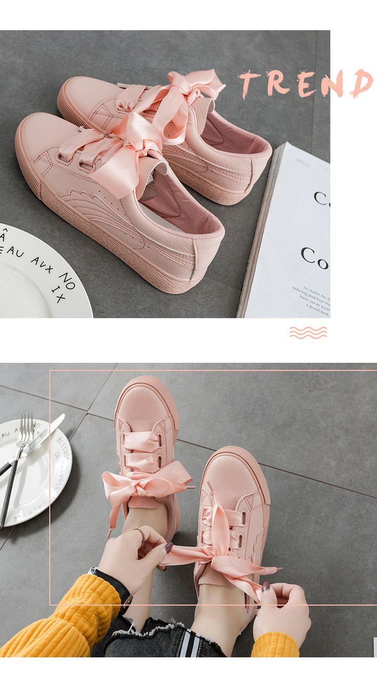 2017 весной новые туфли белые туфли женские студенческие Корейский диких белый холст обувь, повседневная обувь розовые туфли - Taobao