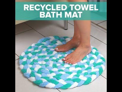 Recycled Towel Bathmat - YouTube
