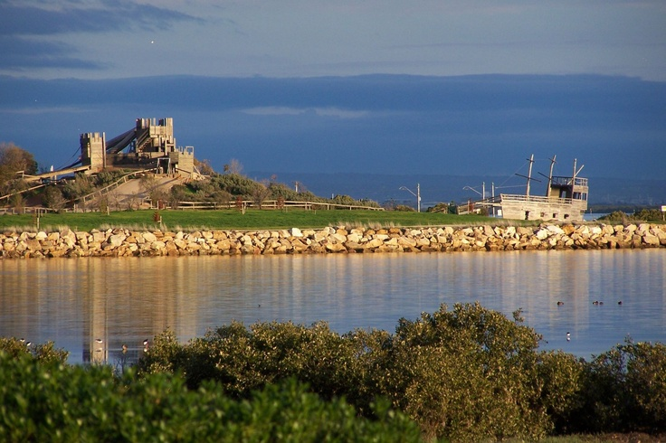 Kevin Collins of St Kilda, South Australia took this beautiful picture of the St Kilda Adventure Playground across the water. Kevin's picture is picture 100 in our collection celebrating the playgrounds 30th Anniversary. Thank you Kevin. @cityofsalisbury #stkildaplayground #playground #fun