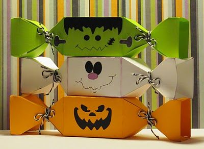 halloween treat boxes - Halloween Treat Holders