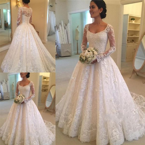 Wholesale Wedding Gown Styles Wedding Gowns Cheap And Bride Gown On Dhgate Com Are Fashi Long Sleeve Wedding Dress Lace Wedding Gown Styles Wedding Dresses Uk
