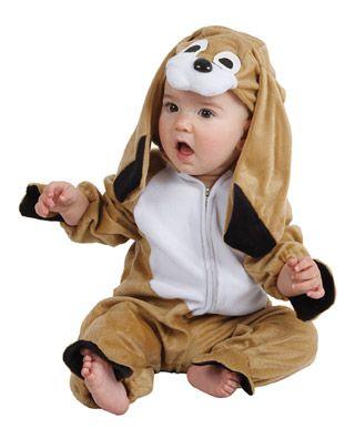 disfraza a tu beb con un original disfraz de perrito