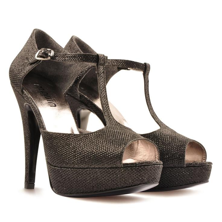 Marjin Algaran Platform Ayakkabı Siyah Sim