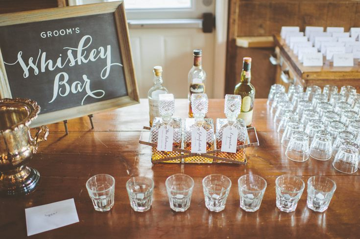 A fantastic idea for a signature cocktail   Photo by Paper Antler