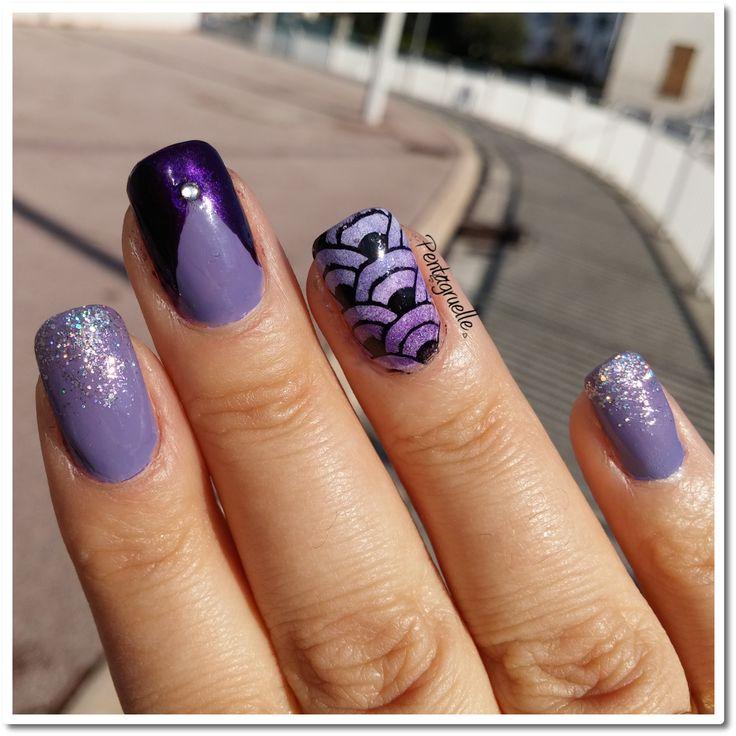 Pentagruelle's World: Que le purple regne pour l'anniversaire de Vanille et les Vernis !