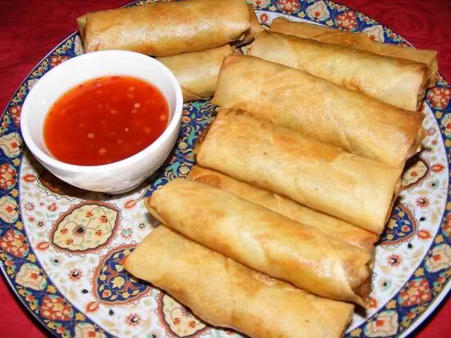 Loempia's (Toko Makassar heeft de lekkerste)