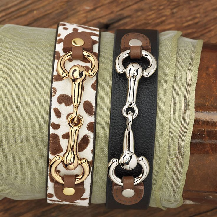 Simple Snaffle Bit Bracelet - Horse Themed Gifts, Clothing, Jewelry and Accessories all for Horse Lovers | Back In The Saddle