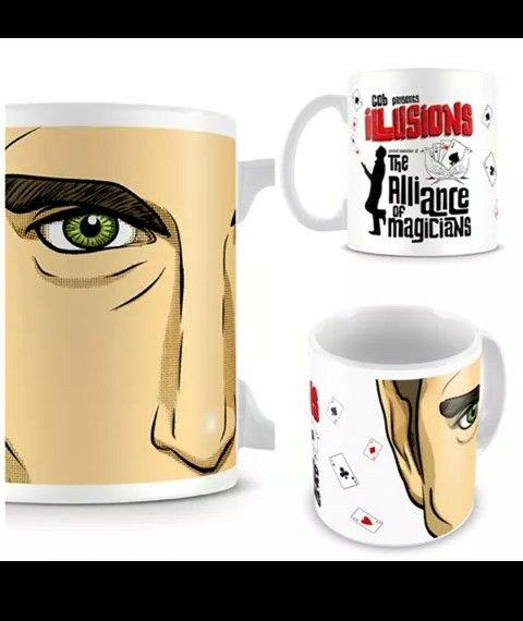 Ilusionis mugs $35 USD