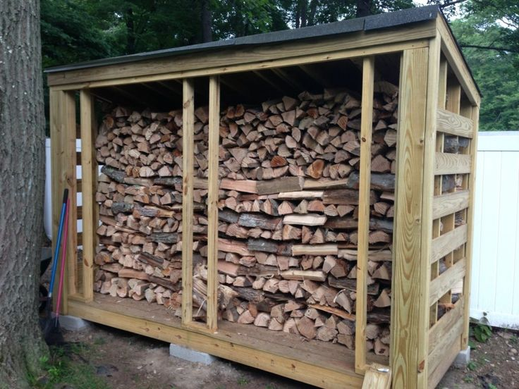 Furniture, Outdoor Firewood Rack Log Storage Design With Roof For Backyard  Rustic House Ideas: