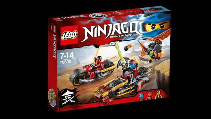 70600 Ninjajakt på to hjul - Produkter - Ninjago LEGO.com