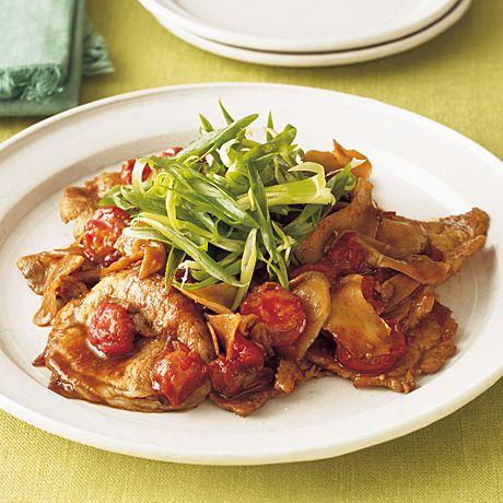 豚のトマトしょうが焼き | 藤井恵さんのしょうが焼きの料理レシピ | プロの簡単料理レシピはレタスクラブニュース