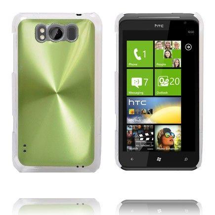 Alumiini Suojus (Vihreä) HTC Titan Suojakuori