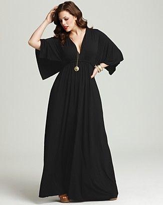 Rachel Pally White Label Plus Size Long Caftan Dress