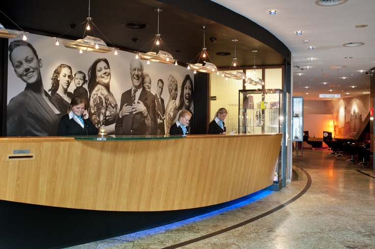 Reception at Inntel Hotels Amsterdam Centre