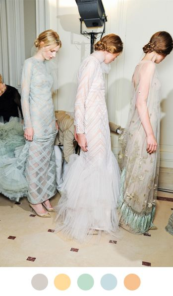 Ethereal: Fashion Beautiful, Style, Fashion Show, Colors, Runway, Gowns, The Dresses, Valentino Couture, Haute Couture