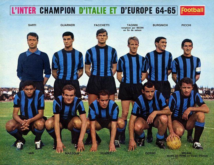 Inter 64-65 - Campione d'Italia e Campione d'Europa