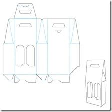 17 best images about die cut templates on pinterest for 6 pack beer carrier template