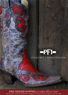 Picture of western clothing store from PFI Western Wear Store catalog SpringFashionPalette @catalogs