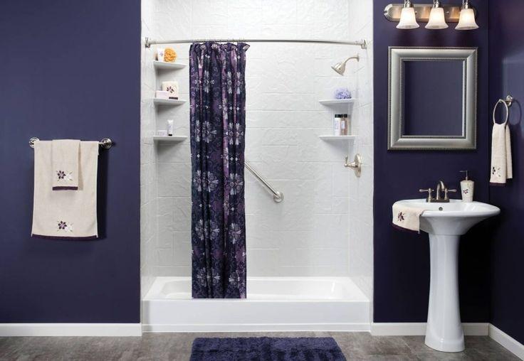 Best 25 dark purple bathroom ideas on pinterest purple bathroom furniture purple bedroom for Aubergine bathroom accessories