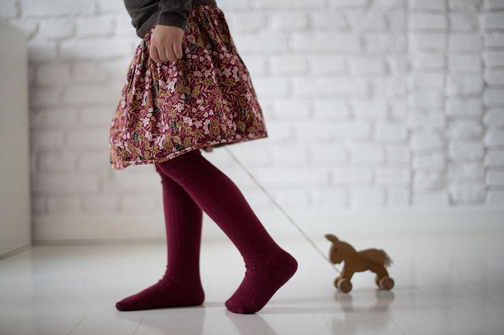 Flora girl skirt, by ju.  ju-inspiration.com