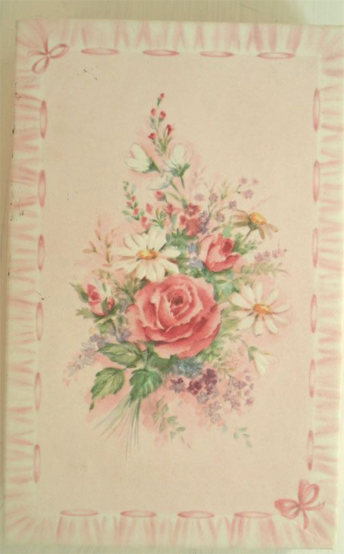 Fabric Wallpaper Shabby Chic Wallpaper French Vintage