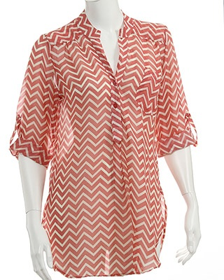 rue21 chevron striped shirt. $19.99