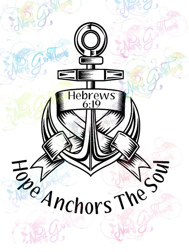 Download Hope Anchors The Soul - Christianity - Digital Print, SVG ...