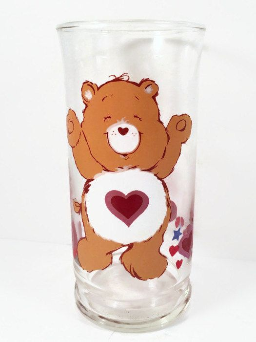 Check out Collectible Care Bear Glass - 1983 Tenderheart Bear Pizza Hut Glass Made with lots of love! ❤️  https://www.etsy.com/listing/472768871/collectible-care-bear-glass-1983?utm_campaign=crowdfire&utm_content=crowdfire&utm_medium=social&utm_source=pinterest