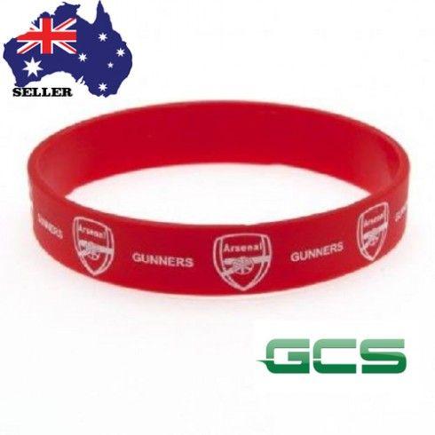 Arsenal Silicone Wristband