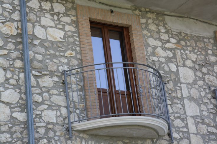 #balcone in #ferro. #balcony #fabbro #iron #smith #romantic