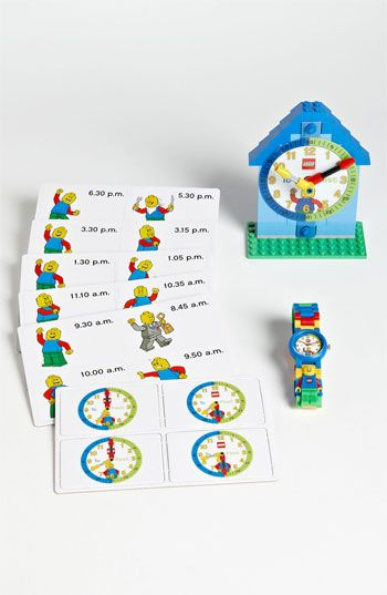 LEGO® 'Time Teacher' Watch & Activity Clock available at #Nordstrom
