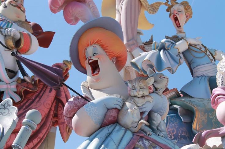 las fallas valencia http://herbandlace.com/lasfallas/