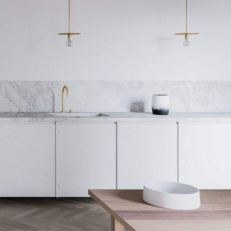 Contemporary minimalistic kitchen by Andreu Taberner