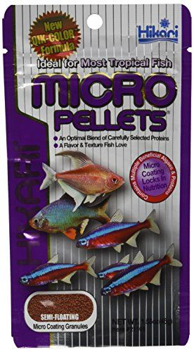 Micro Pellets are small multi-colored pellets developed specifically for small-mouth fishes providing them superior nutrition with excellent digestibility....
