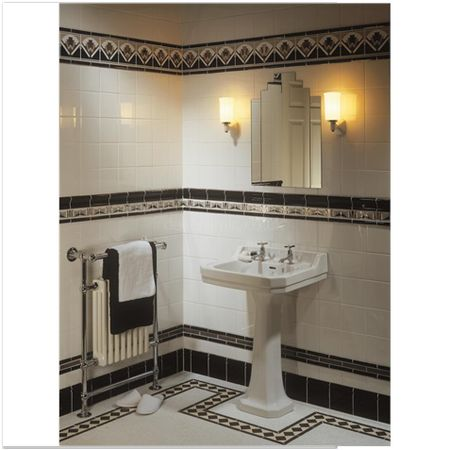 Simple If Youre Looking To Create The Sophisticated Glamour Of The Art Deco Era In Your  Fittings And Tiles When Creating A Vintagestyle Bathroom, It Is Crucial That The Sanitaryware Coordinates With The Floor And Wall Tiles And Accessories
