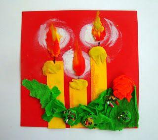 Мастерская. Käsitöö.: Рождественская открытка. Рисуем Ангела.