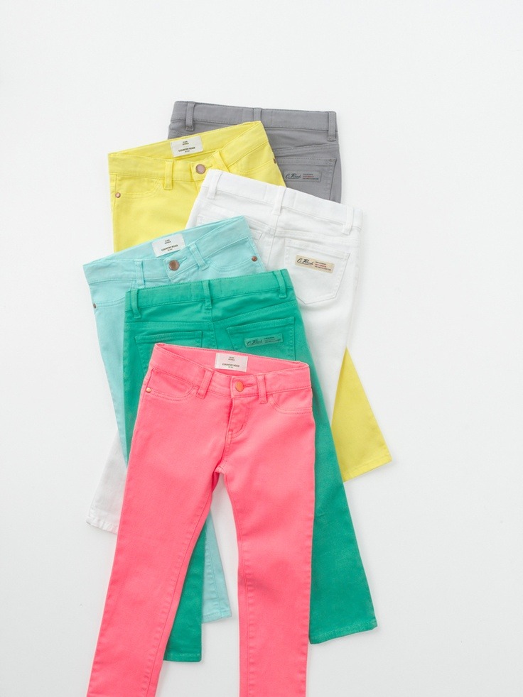 Coloured Jeans that I need to get my hands on.