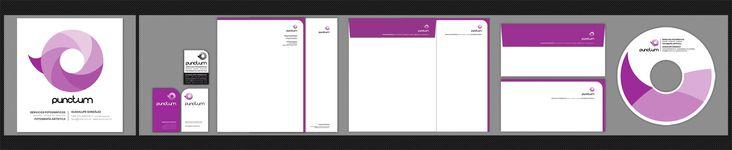 { Puctum }  Servicios Fotográficos y Fotografía Artística  Logotipo. Tarjetas de visita, primer y segunda hoja, sobre americano, sobre carta, sello y carátula de cd.